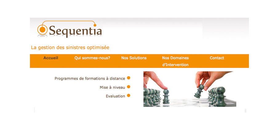 Sequentia, eLearning - Gestion des sinistres