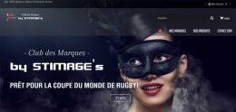 Création de site Internet club des marques by stimage's