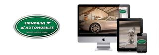 Création de site Internet garage Jaguar Land Rover