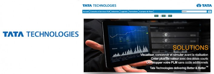 Création du site Internet TATA Technologies France