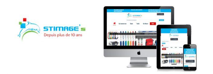 Création de site Internet entreprise d'objets publicitaires