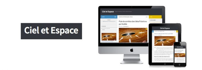 Création d'un Blog sur le Ciel et l'Espace
