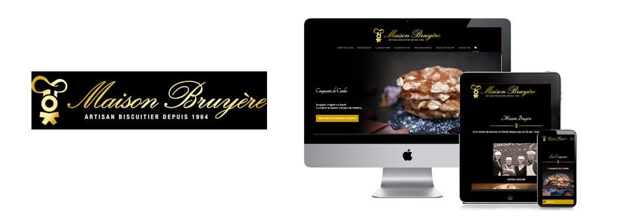 Création de site eCommerce pour la biscuiterie Maison Bruyère
