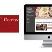 Création de site web pour un festival de musique classique