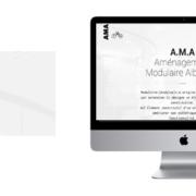 Création du site vitrine de A.M.A. cloisons modulaires